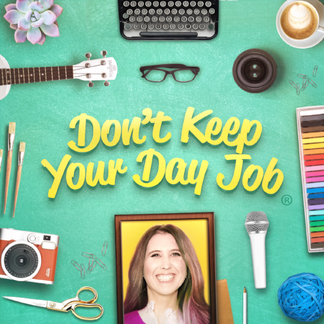 Dont Keep your Day Job podcast with Cathy Heller