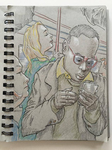 Commuter sketch
