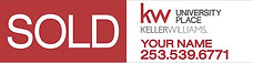 Keller Williams 6x24'' Sold by