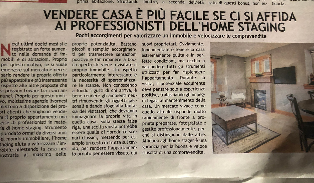 CECILIA MASSIGNAN HOME STAGING PISA LIVORNO TOSCANA ON LINE
