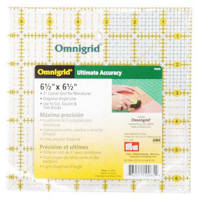 """Omnigrid Ruler- 6.5"""""""