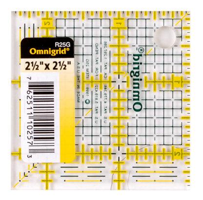 """Omnigrid Ruler- 2.5"""""""