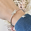 Thumbnail: Bracelet jonc CLEON ARGENT