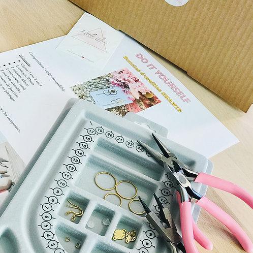 BOX DIY Boucles d'oreilles SHANIE