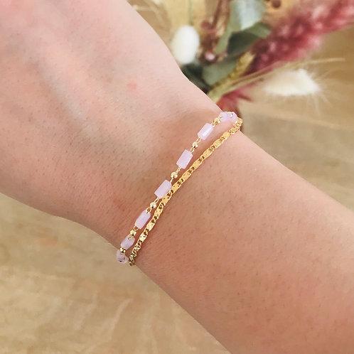 Bracelet FÉLICIE (Rose)