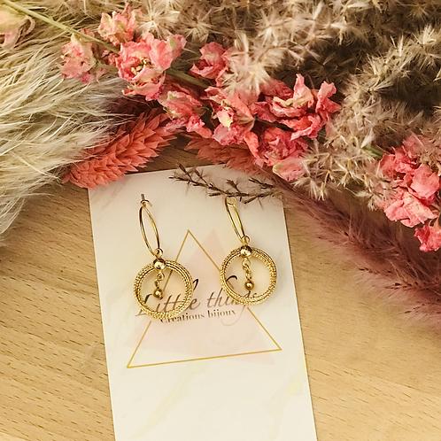 Boucles d'oreilles CAMELA