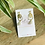 Thumbnail: Boucles d'oreilles ELINA Blanc