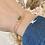 Thumbnail: Bracelet AZAÉE Plaqué or