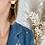 Thumbnail: Boucles d'oreilles HÉCATE plaqué or