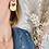 Thumbnail: Boucles d'oreilles RÉVA plaqué or