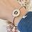 Thumbnail: Bracelet jonc AGLAÉ Argent
