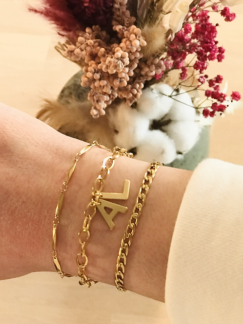 Bracelet initiales