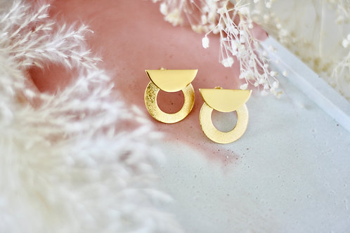 Boucles d'oreilles ELLY plaqué or