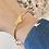 Thumbnail: Bracelet jonc CLEON Plaqué or
