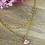 Thumbnail: Collier DEOTILLE ( Rose )