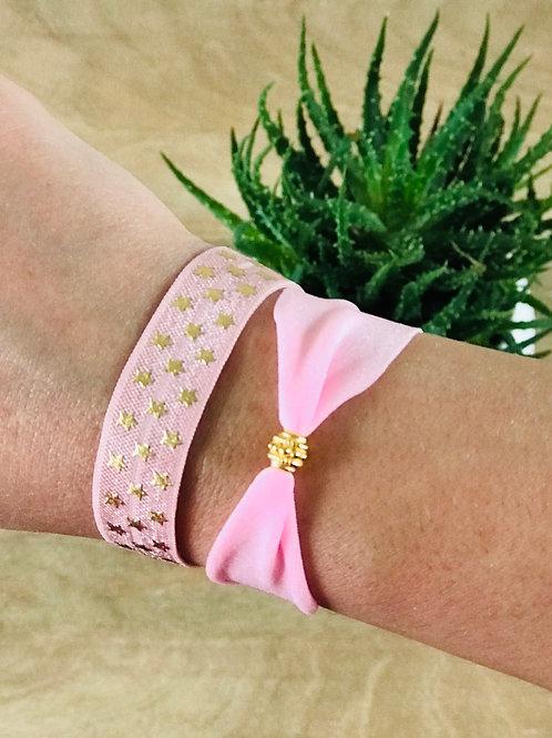Bracelet IBIZA Etoiles rose