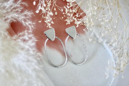 Boucles d'oreilles IONA Argent