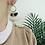 Thumbnail: Boucles d'oreilles KAÏDIE