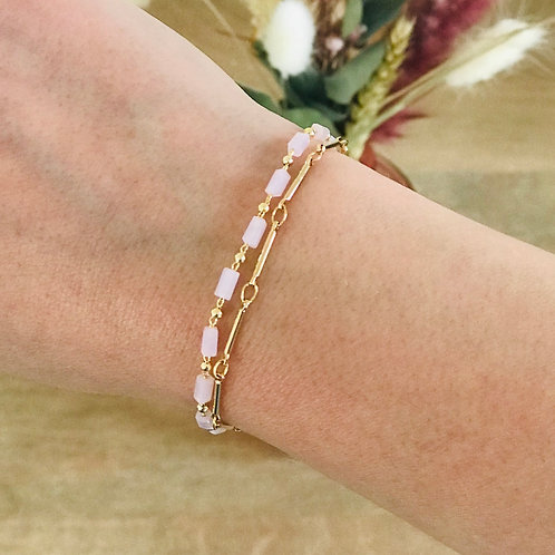 Bracelet ÉLORÉ (Rose)