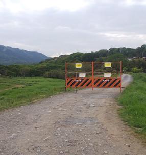 駐車場や河川敷が閉鎖されます(4/29修正)