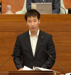 まん延防止等重点措置の期間再延長を受け討論で意見を述べました