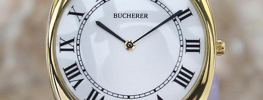 Rare Bucherer Men's Dress Watch