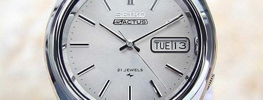 Seiko 5 Actus Automatic Watch