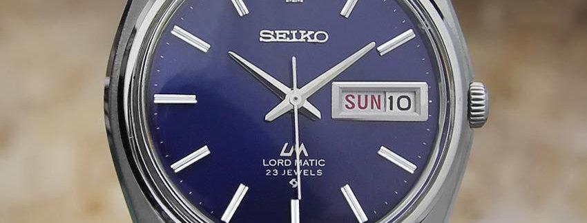 Seiko Lord Matic 5606 7000 Men's Watch
