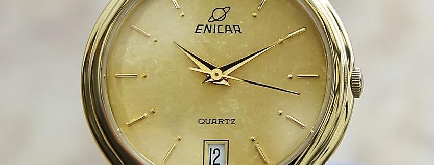 1990s Enicar Exquisite Swiss Made Men's Watch