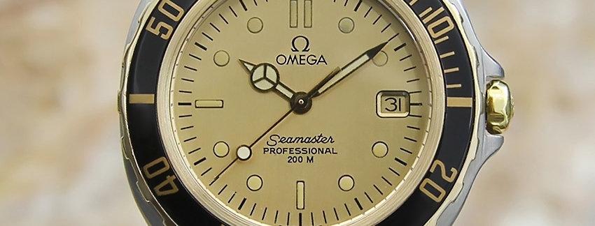 Omega Seamaster 200M Men's Watch