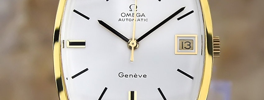 1970's Omega Geneve 162 0010 Watch