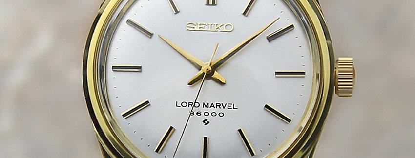 1977 Seiko Lord Marvel 5740 8000 Men's Watch