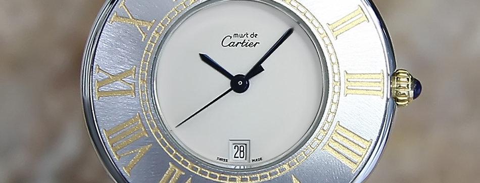 1990 Cartier Must de 21 Watch