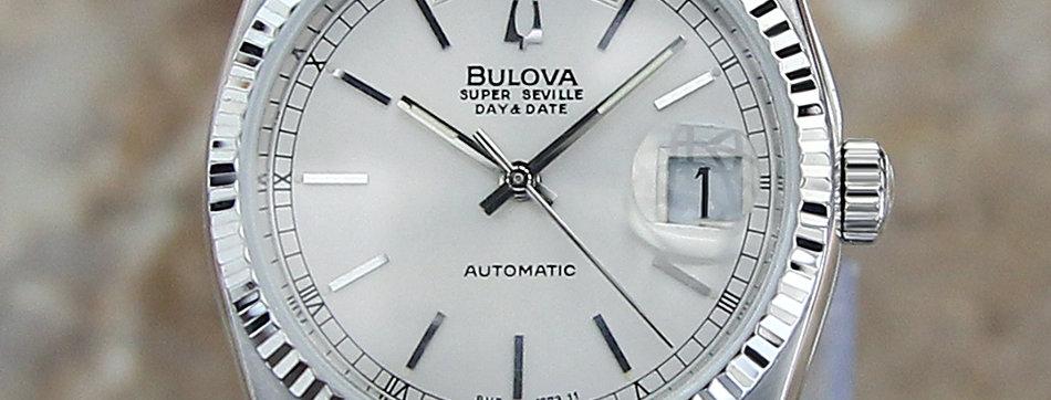 1980 Bulova Super Seville Watch