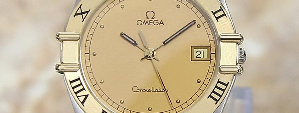 Omega Constellation 18k Gold Men's Watch
