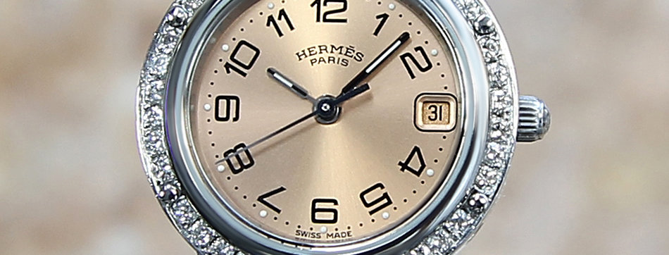 Hermes Clipper Watches for Women