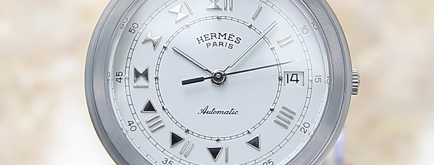 Hermes ClipperSwiss Made Men's Watch