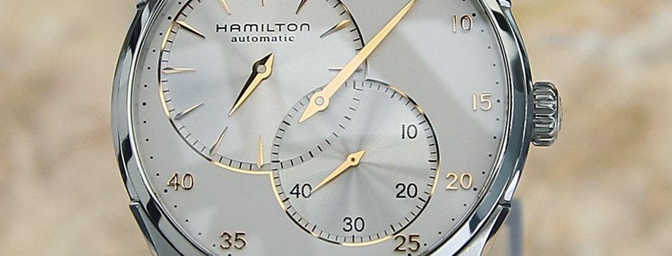 Hamilton Jazzmaster Regulator H12 Silver Dial Watch