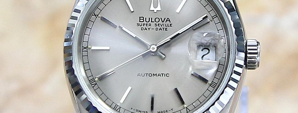 1980's Bulova Super Seville Watch