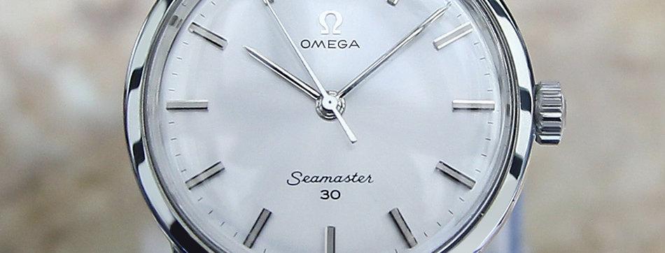 Omega Seamaster Manual Watch