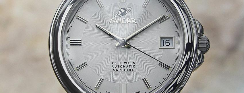 Enicar Exquisite  1990 Mens Watch