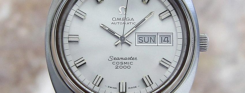 Omega Seamaster Cosmic Automatic Watch