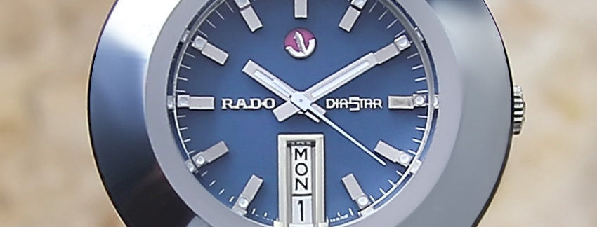 Rado Tungsten Diastar 1970 Vintage Watch