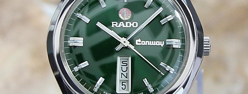 Rado Conway Green Dial Watch