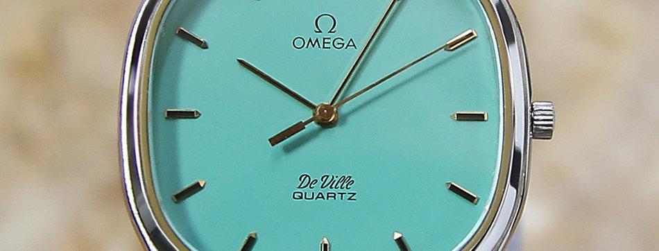 1980's Omega DeVille Swiss Watch
