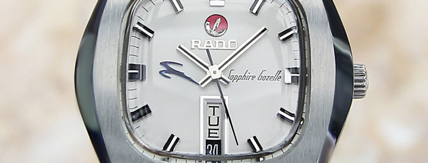 Rado Sapphire Gazelle 38mm Men's Watch