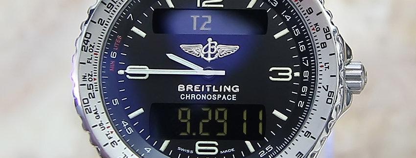 Breitling Chronospace A56012 1 Men's Watch