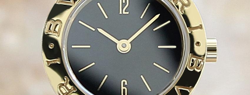 18k Gold Bulgari Tubogas BB23 Ladies Watch