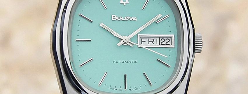 Bulova N9 1970s Vintage  Men's Watch