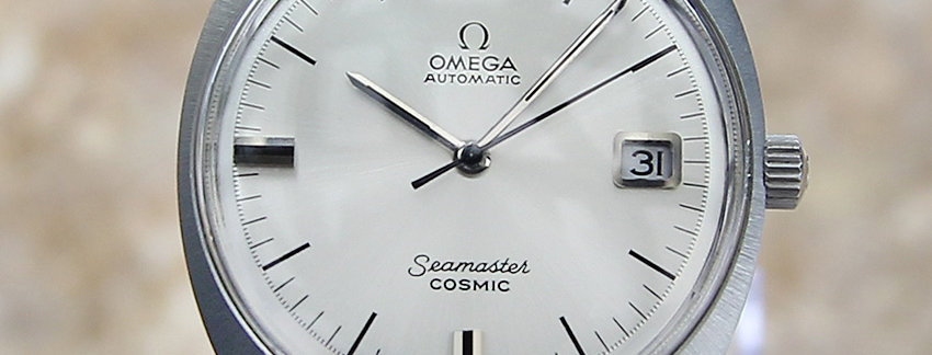 1970's Omega Seamaster Cosmic Swiss Watch